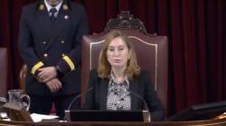 El Congreso, semivacío en el minuto de silencio en homenaje a Laura