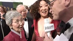 Sandra Oh's Mum Won The Emmys With Her Traditional Korean