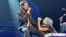 Lady Gaga e Bradley Cooper cantano per la prima volta live