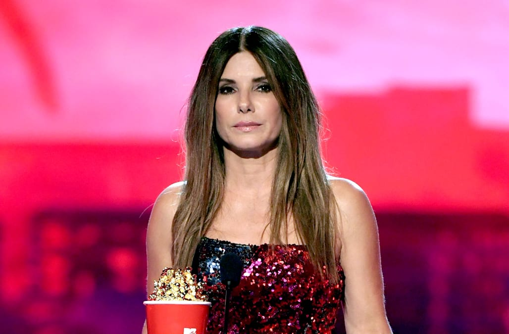Sandra Bullock to her children: 'Sometimes you're born into a family