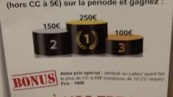 Un concours offre des chèques cadeaux aux agents de la SNCF qui mettent le plus