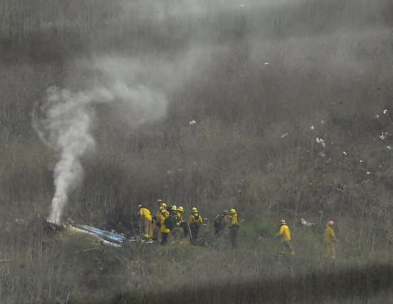 Witness offers account of Bryant's helicopter crash