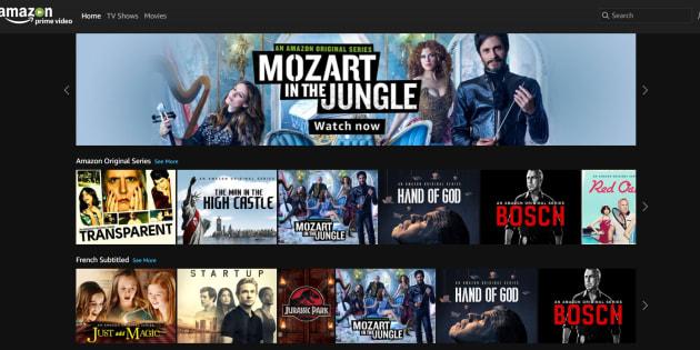 Filme Amazon Prime Liste