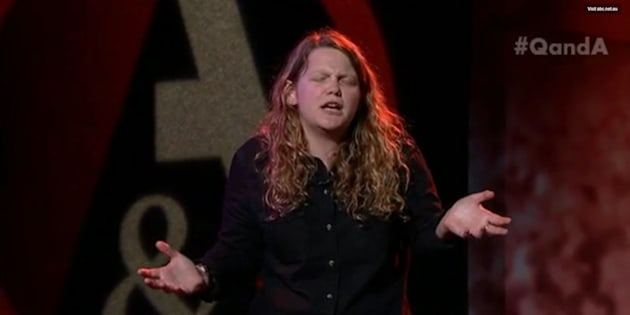 Kate Tempest on the ABC's Q&A