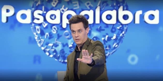 Christian Gálvez en 'Pasapalabra'