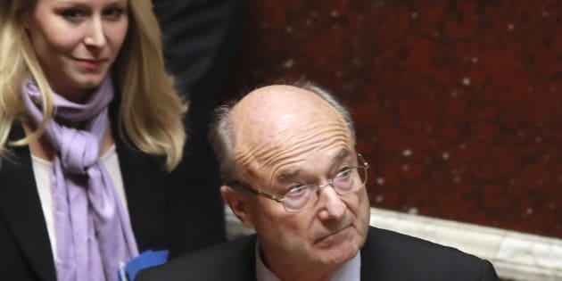 Le député-maire d'Orange Jacques Bompard (ext droite) avait déposé plus de 50 amendements contre le délit d'entrave à l'IVG