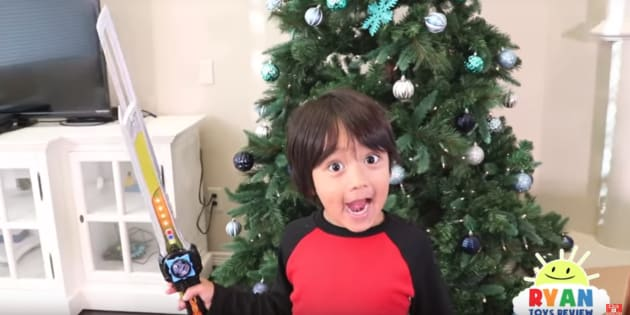 Year-old YouTube star makes $11 million a year