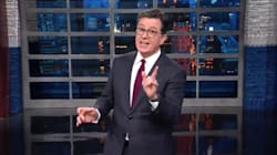 Stephen Colbert Does A Stellar Impression Of Donald Trump Firing Rex