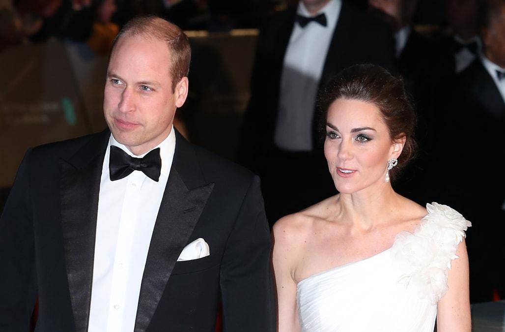 Baftas 2019: BAFTAs 2019: Duchess Kate, Prince William Hit The Red