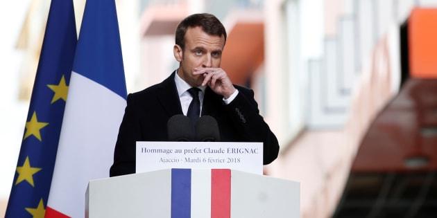 Emmanuel Macron est-il prêt à faire de la Corse un territoire d'outre-mer?