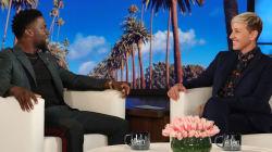 Ellen DeGeneres quiere que Kevin Hart sea el conductor de los Oscar; en Twitter la
