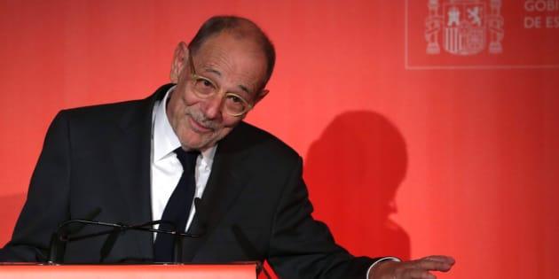 El exministro Javier Solana.