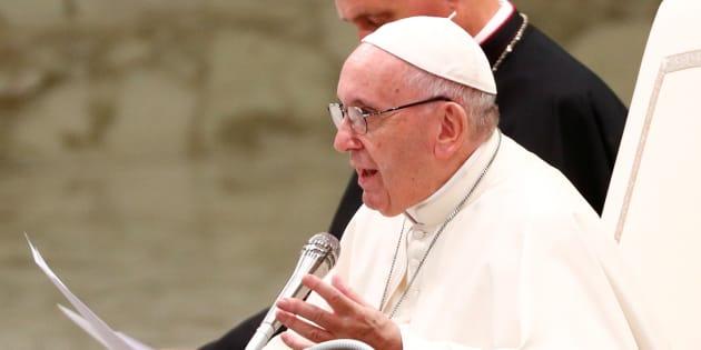 Le pape François au Vatican le 8 août.