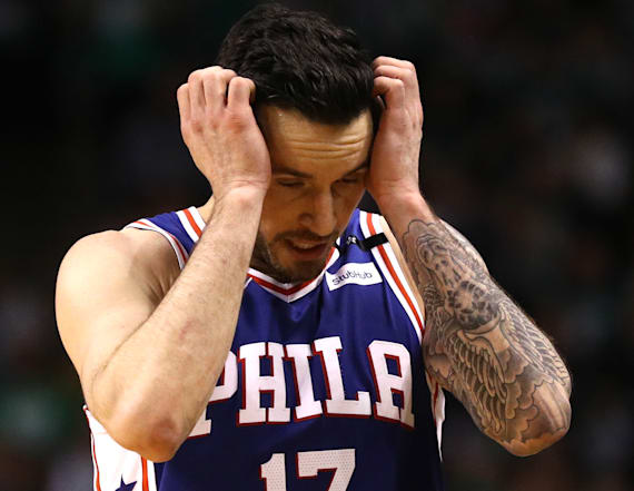 Redick: Car service had woman in a 'box' in the back