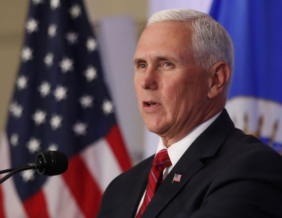 Mike Pence issues stark warning to Kim Jong Un