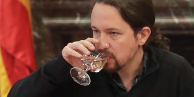 El secretario general de Podemos, Pablo Iglesias.