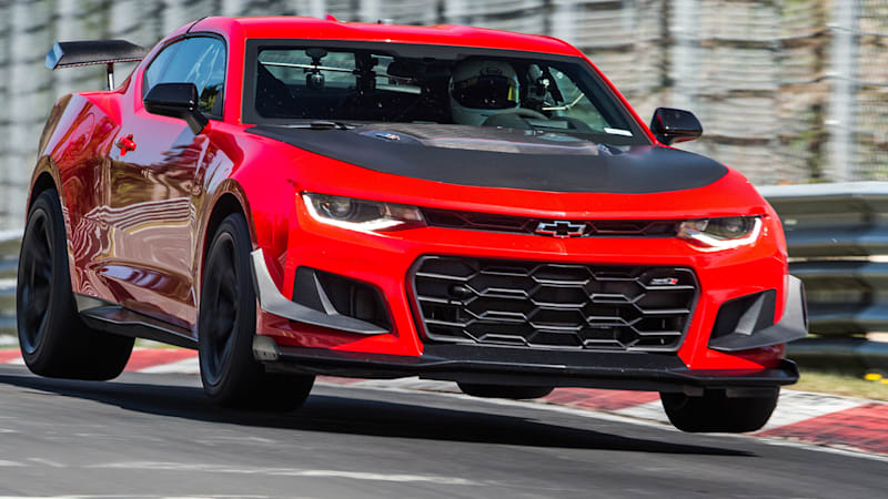 Chevy Camaro ZL1 1LE is shockingly quick at the Nurburgring