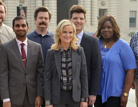 NRA slammed by 'Parks and Rec' cast