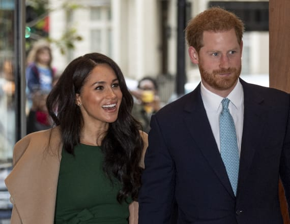 Meghan Markle rewears her engagement dress to awards