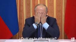 Un ministro de Putin mete la pata y el presidente se ríe en su