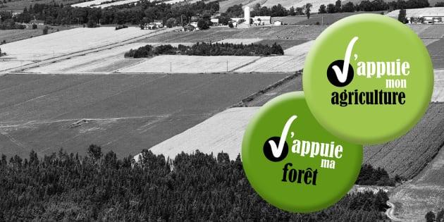 Il est temps d'appuyer notre agriculture et notre forêt.