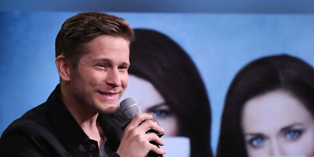 NEW YORK, NY - NOVEMBER 30:  Matt Czuchry discusses 'Gilmore Girls: A Year In The Life' at the Build Series at AOL HQ on November 30, 2016 in New York City.  (Photo by Rob Kim/Getty Images)
