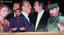 Dani Mateo muestra lo que hizo el rey Juan Carlos para demostrar que el viaje de Sánchez a Cuba es un