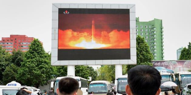 Est-il vraiment risqué de voler à proximité de la Corée du Nord?