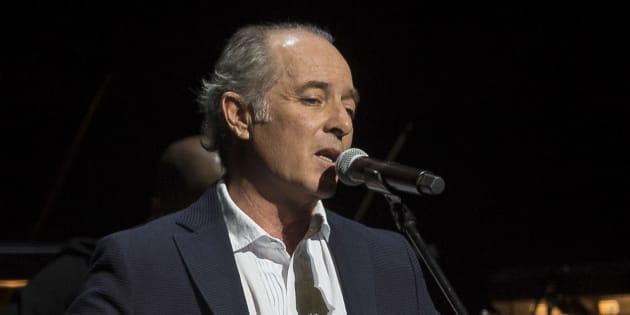 El cantante Jose Manuel Soto.