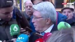 Enrique Cerezo se enfrenta a un periodista de LaSexta: