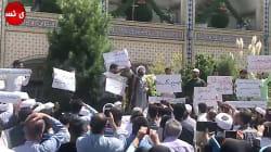 Manifestations et tensions en Iran avant le retour des sanctions américaines
