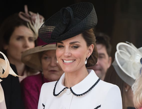 Kate Middleton channels Princess Di with latest look