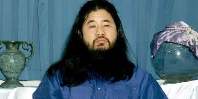 Foto de archivo del 25 de octubre de 1990, que muestra al fundador del culto Aum Shinrikyo, Shoko Asahara.