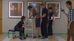 📹 Un hombre parapléjico camina gracias a un implante