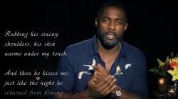 Idris Elba lit des
