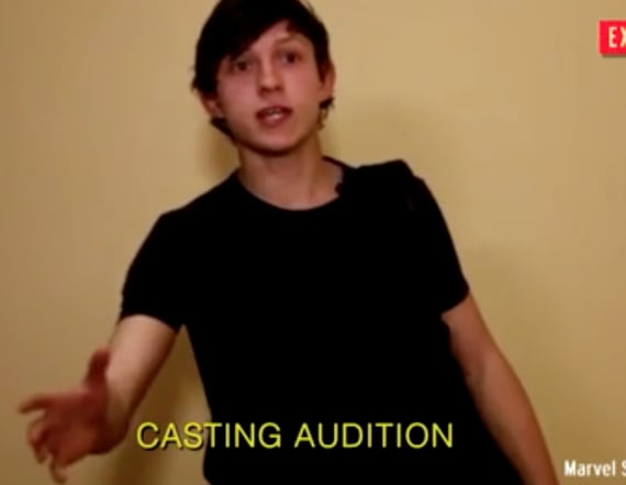 Watch Tom Holland's 'Spider-Man' audition