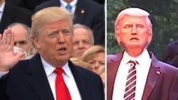 Le robot Donald Trump fait ses débuts à Disney World (et tout le monde est