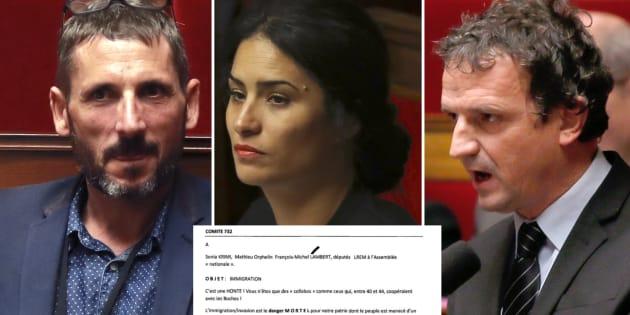 Loi asile et immigration : trois députés REM menacés dans une lettre anonyme
