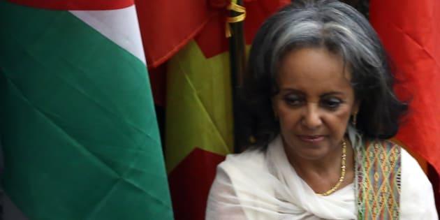 """""""Precisamos nos tornar uma sociedade que rejeita a opressão das mulheres"""", disseSahle-Work diante do Parlamento."""