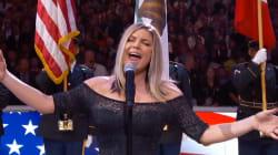 Fergie accusée d'avoir massacré l'hymne national