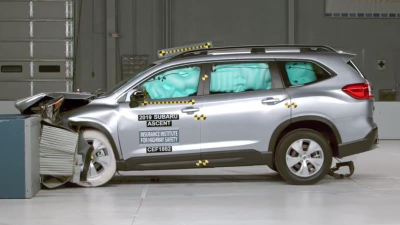 Subaru Santa Fe >> 2019 Hyundai Santa Fe 2019 Subaru Ascent Have Good Crash