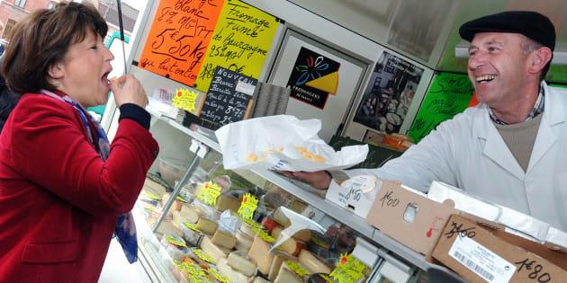"Martine Aubry : ""Quand je suis stressée, je mange"""