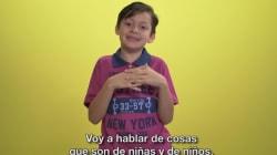 Un niño de ocho años explica que no existen 'cosas de niño' y 'cosas de
