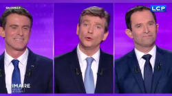 Les candidats convoquent Aubry et la presse people pour se payer