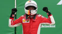 Vettel, líder mundial, se corona en
