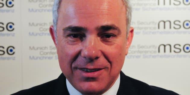 Le ministre de l'Energie israélien, Youval Steinitz.