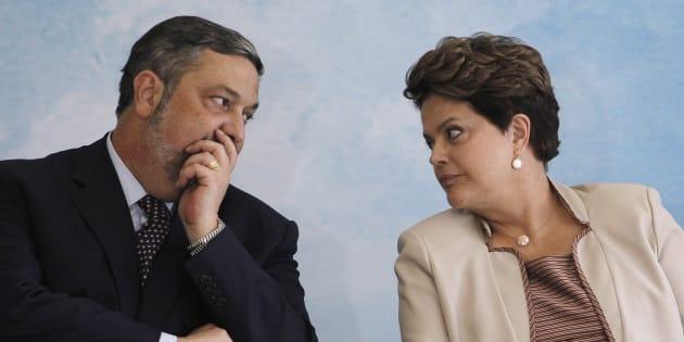 Antonio Palocci foi ministro nos governos de Lula e Dilma Rousseff.