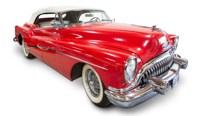 Neil Young's 1953 Buick Roadmaster Skylark brings $400,000 at auction