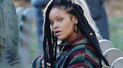 La coiffure de Rihanna dans