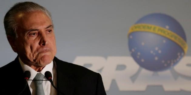 Presidente Michel Temer teve decretada quebra de sigilos bancário e fiscal.
